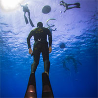 AIDA freediving courses: AIDA INSTRUCTOR cross over