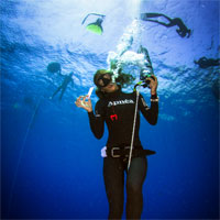 AIDA freediving specialties: Competition Freediver Course